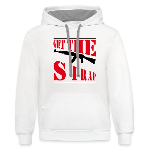 Get the strap - Contrast Hoodie