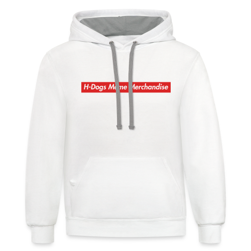 Text Logo - Contrast Hoodie