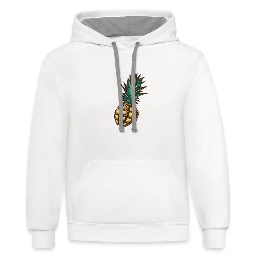 PineapplePeat Grenade - Contrast Hoodie