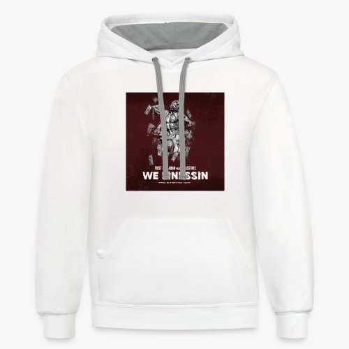 First Man ADAM We Finessin ft. JoPassTheL - Contrast Hoodie
