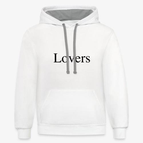 Lovers - Contrast Hoodie
