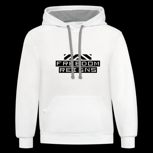 Freedom reigns - Contrast Hoodie