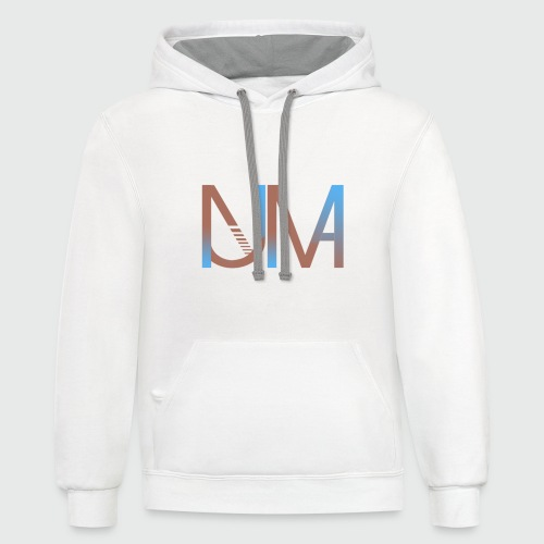 Numa with out bg - Contrast Hoodie