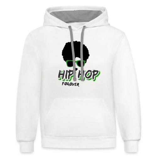 hiphop - Contrast Hoodie