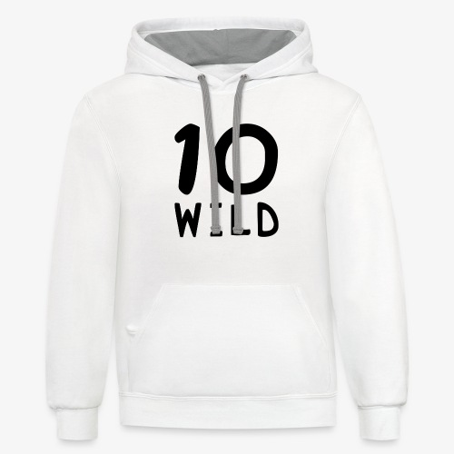 10 Wild - Contrast Hoodie