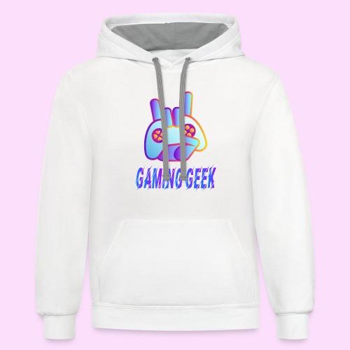 Gaming Geek - Contrast Hoodie