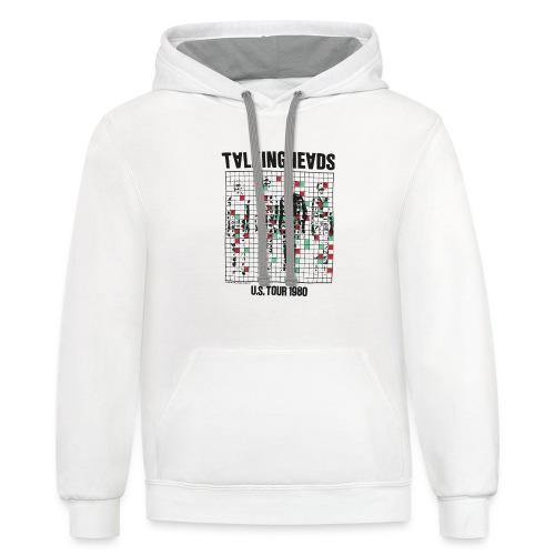 Talking Heads - Contrast Hoodie