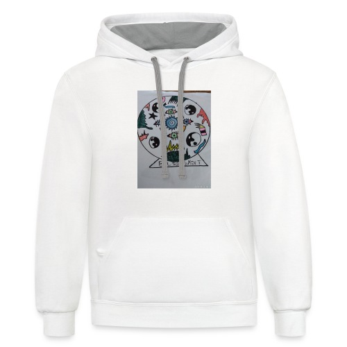 Enlightenment - Contrast Hoodie