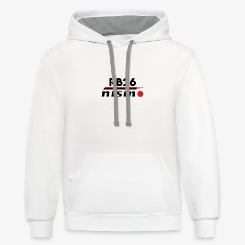 GTR RB26 Nismo - Contrast Hoodie