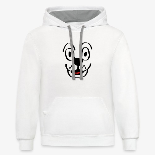 Happy Dog - Contrast Hoodie
