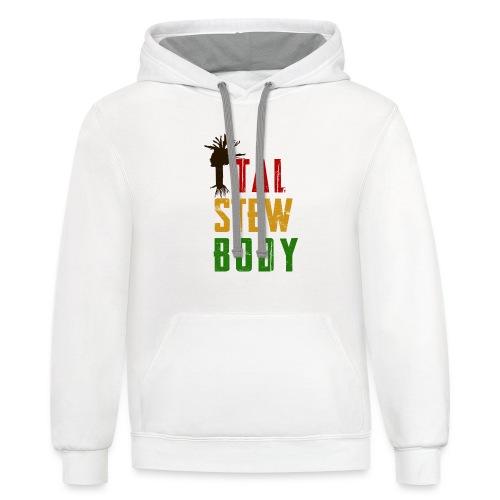 Ital Stew Body (MALE) - Contrast Hoodie