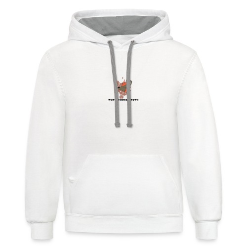flammable coots - Contrast Hoodie