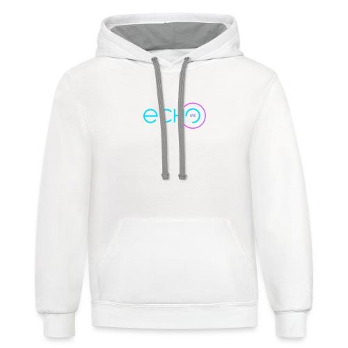 EchoMe - Contrast Hoodie