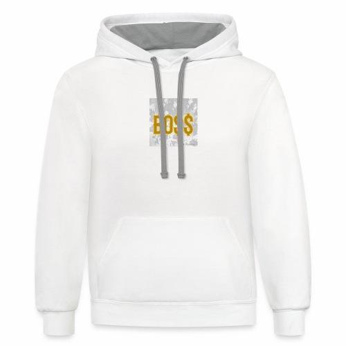 Boss - Contrast Hoodie