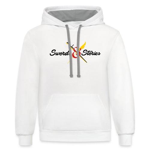 Swords and Stories Logo - Contrast Hoodie