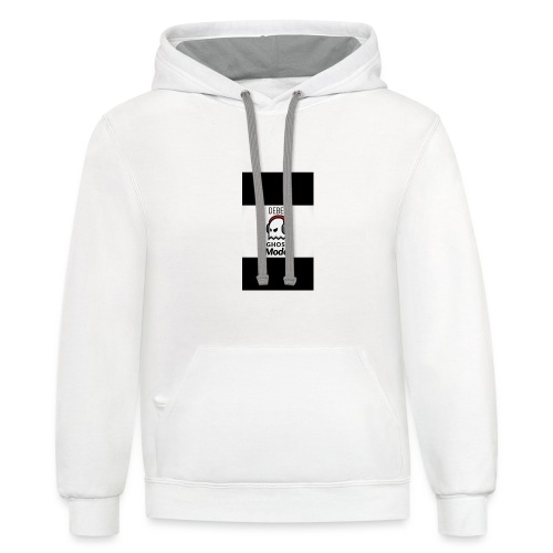 Ghost mode v1.0 - Contrast Hoodie