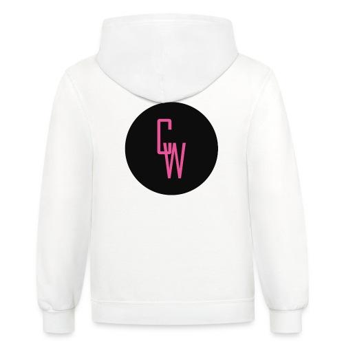 CraftyWalrus Logo - Contrast Hoodie
