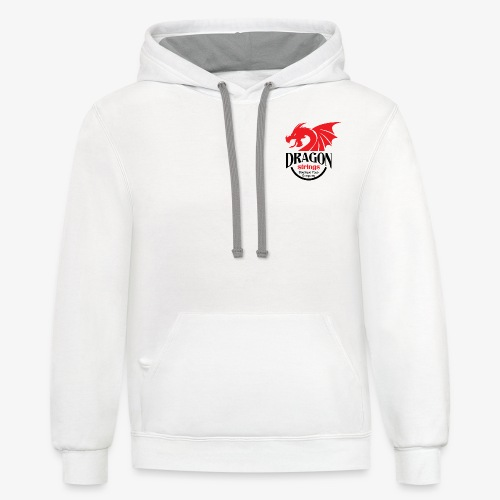Official Red & Black logo - Contrast Hoodie