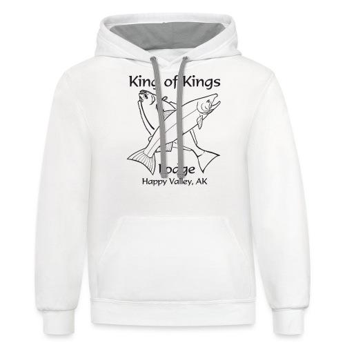 King of Kings - Contrast Hoodie