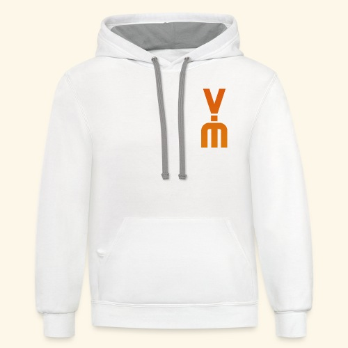 The White Vimster - Contrast Hoodie