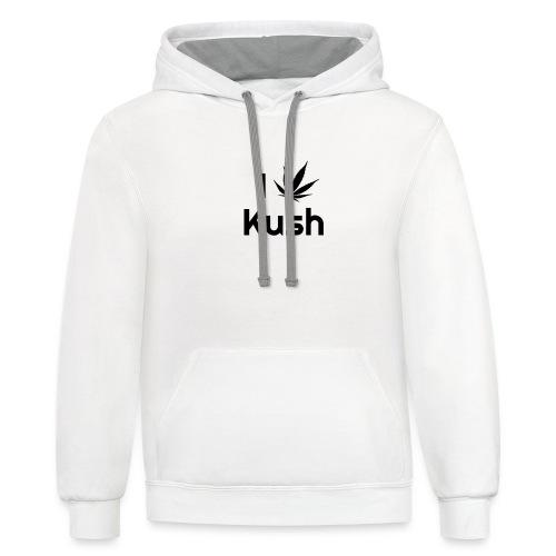 I love Kush - Contrast Hoodie