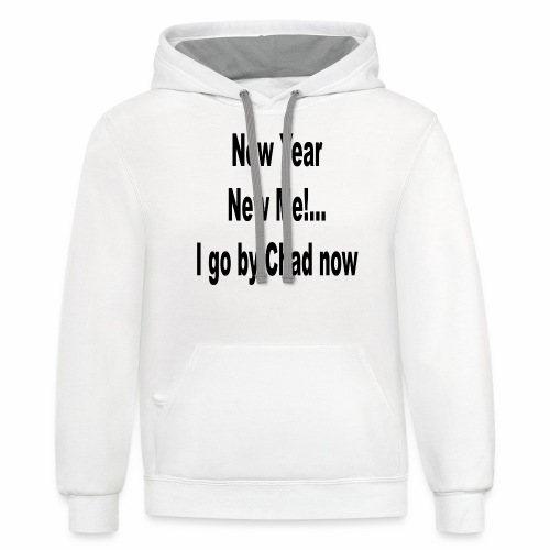 New Year New Me - Contrast Hoodie