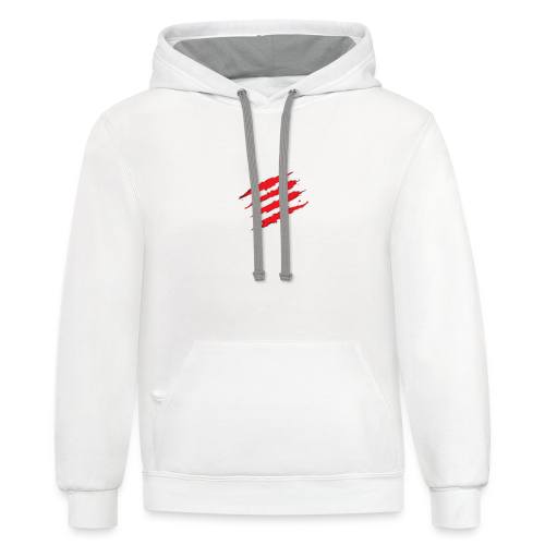 The Inspiration Logo By Unofficially - Contrast Hoodie
