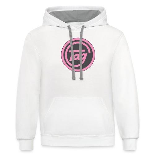 Tag grid merchandise - Contrast Hoodie