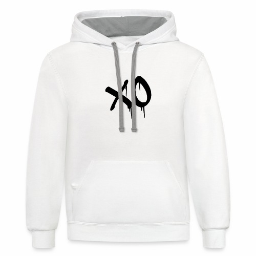 X O Design - Contrast Hoodie