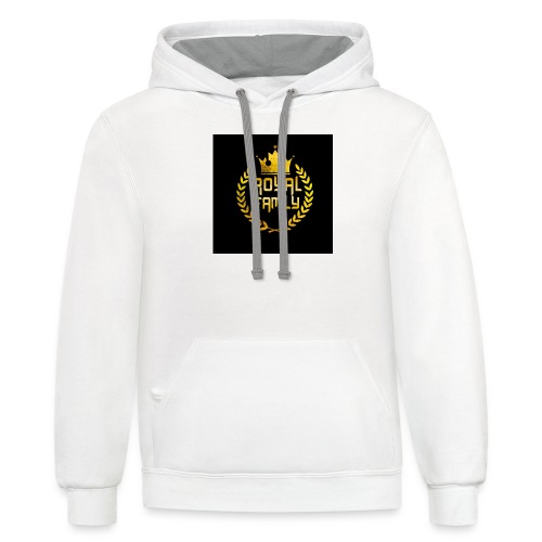 The Royal Family Merch - Contrast Hoodie