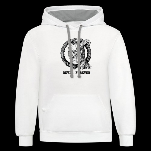 Devil Forever - Contrast Hoodie