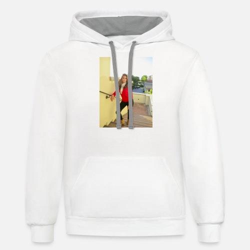 Thankful Merchandise - Contrast Hoodie