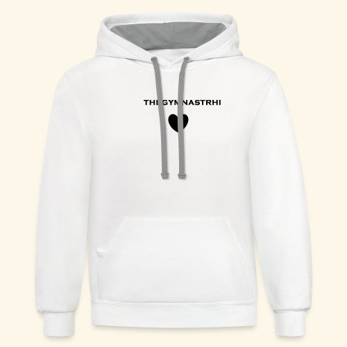 THE GYMNAST RHI MERCH - Contrast Hoodie