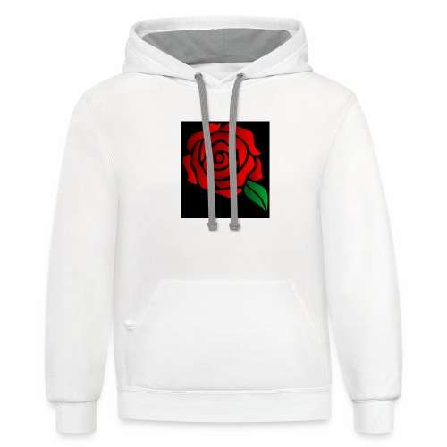 alx dare to be different - Contrast Hoodie