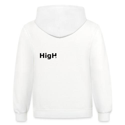 High Contrast - Contrast Hoodie