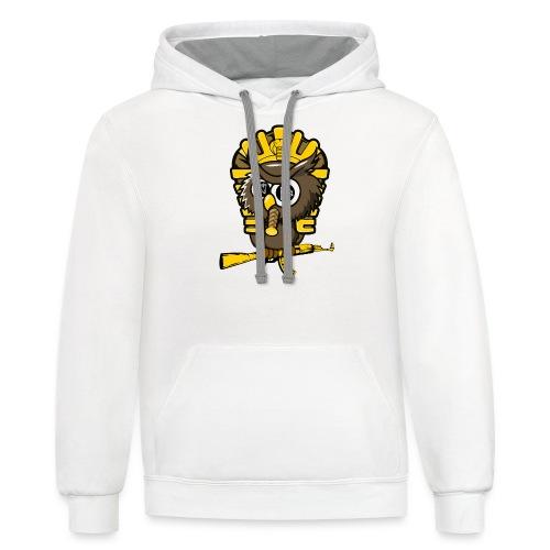 king otrg owl - Unisex Contrast Hoodie