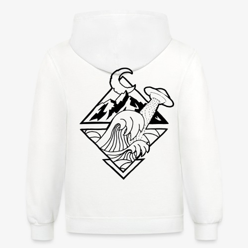 Limited Edition Thanks for All the Fish - Contrast Hoodie