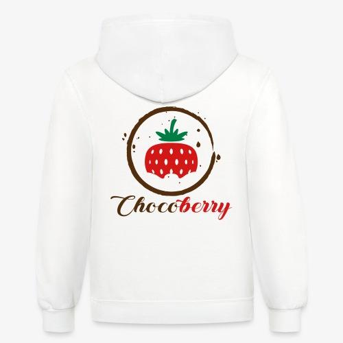 Chocoberry - Unisex Contrast Hoodie