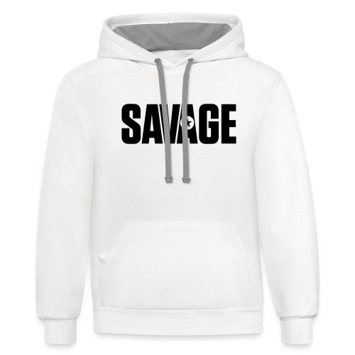 SAVAGE - Contrast Hoodie