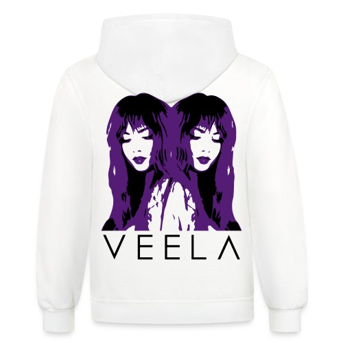 Double Veela Light Women's - Unisex Contrast Hoodie