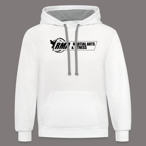 RMA-full-logo-Front-1clr- - Contrast Hoodie