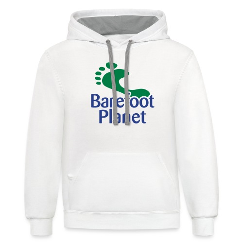 Get Out & Run Barefoot Women's T-Shirts - Unisex Contrast Hoodie