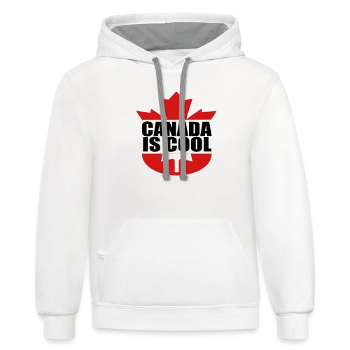 Canada is Cool - Contrast Hoodie