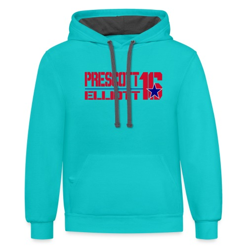 Prescott/Elliott 16 - Contrast Hoodie