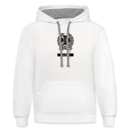 Expert Hacker Qualification Badge - Unisex Contrast Hoodie