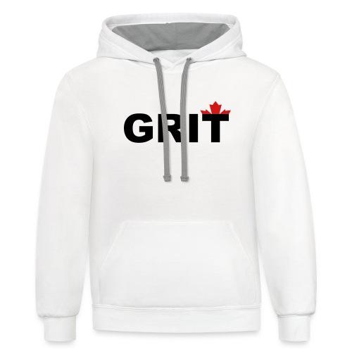Grit - Unisex Contrast Hoodie
