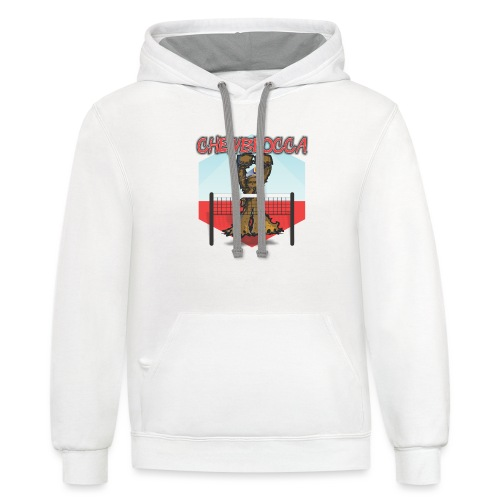Chewblocca Volleyball Team Logo - Contrast Hoodie