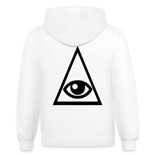 illuminati - Unisex Contrast Hoodie