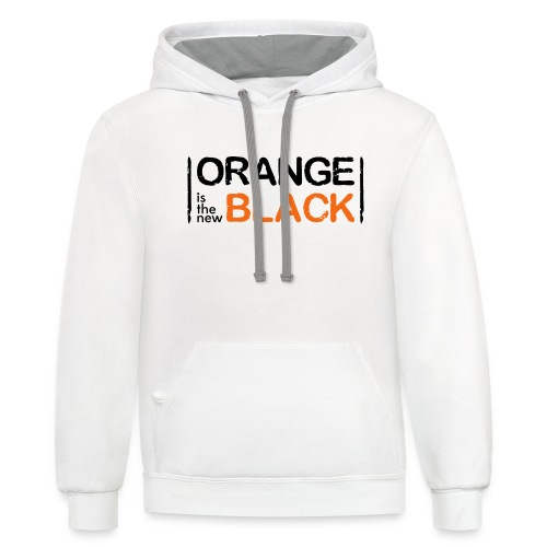 Free Piper, Orange is the New Black Women's - Contrast Hoodie