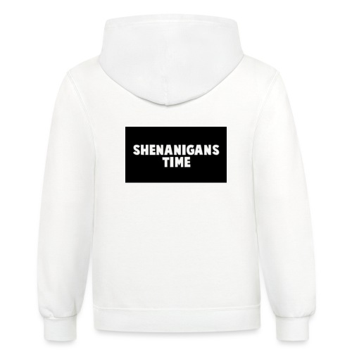 SHENANIGANS TIME MERCH - Contrast Hoodie